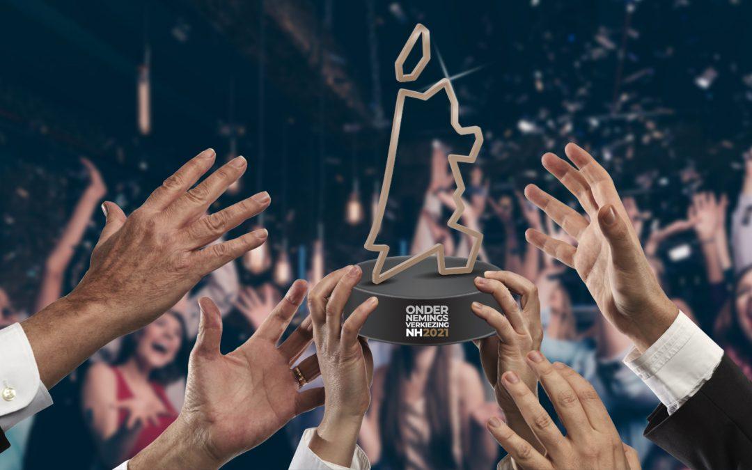 CLB Groep is finalist in de Ondernemersverkiezing Noord-Holland 2021!