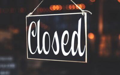 I.v.m. onze verhuizing zijn wij één werkdag gesloten op maandag 14 december 2020